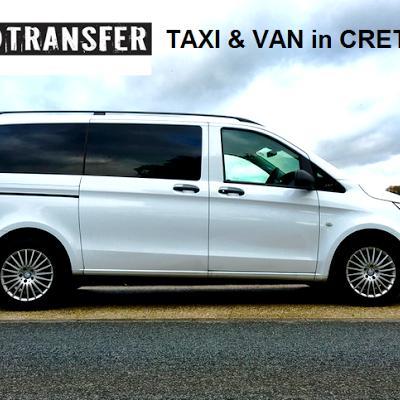 TAXI -VAN SERVICE TRANSFER in CRETE