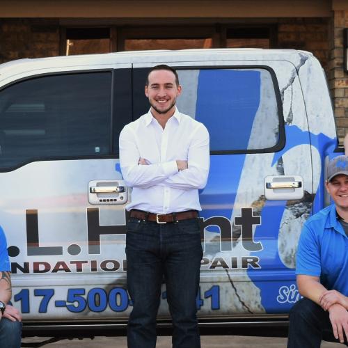 GL Hunt Foundation Repair