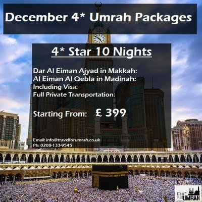 Travel For Umrah