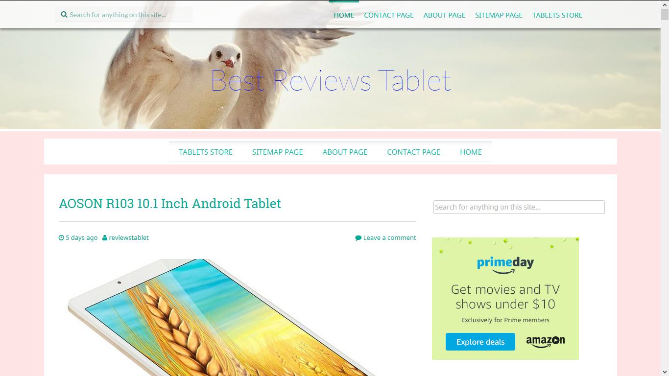reviews-tablet.com Screenshot