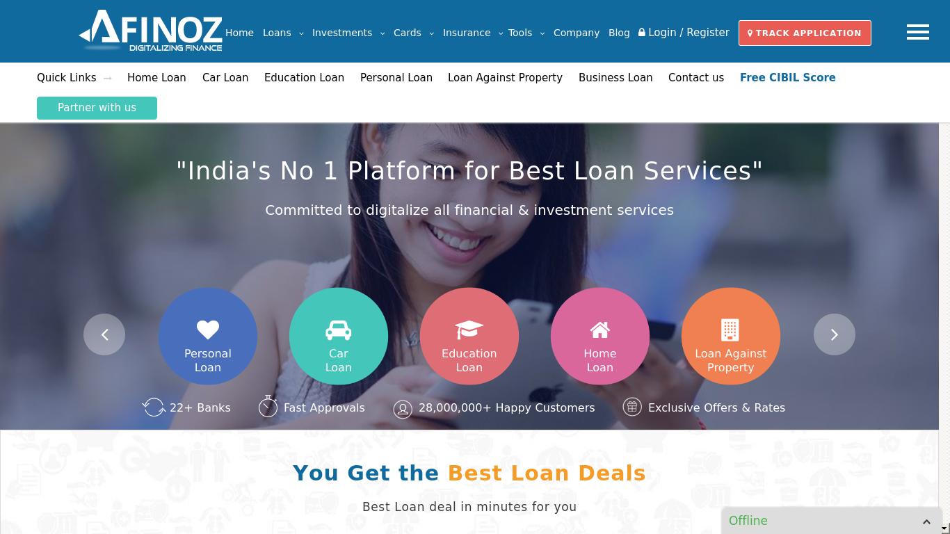 afinoz.com Screenshotx