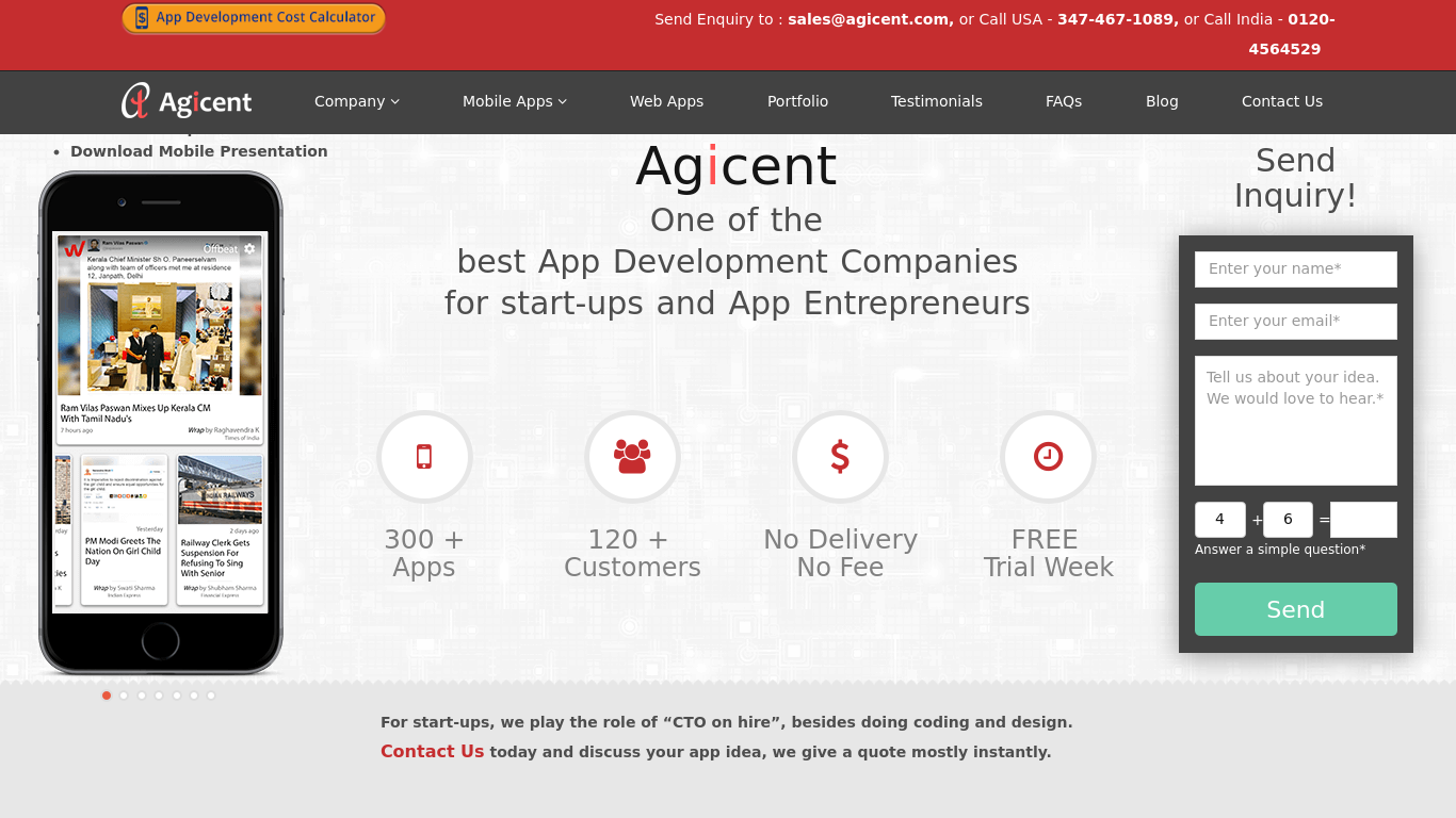 agicent.com Screenshotx