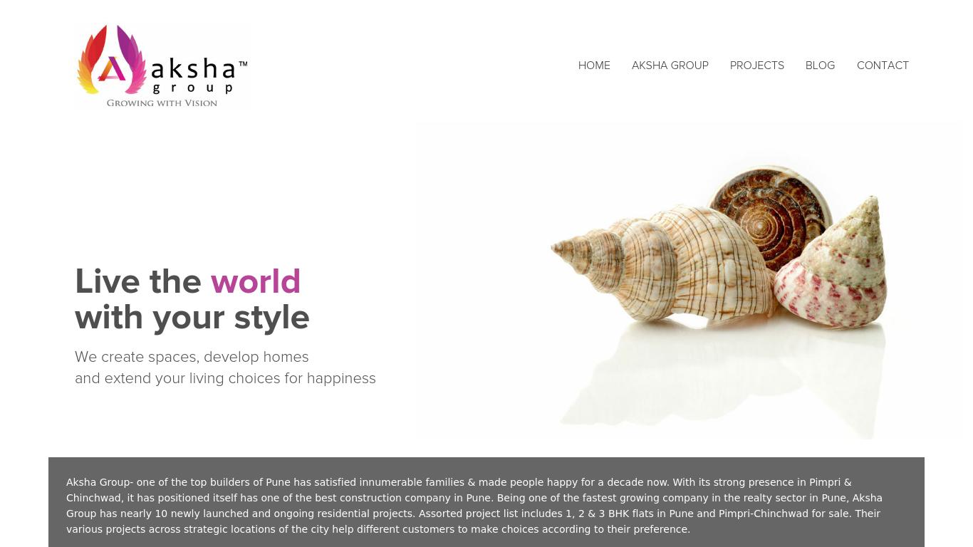 akshagroup.com Screenshotx