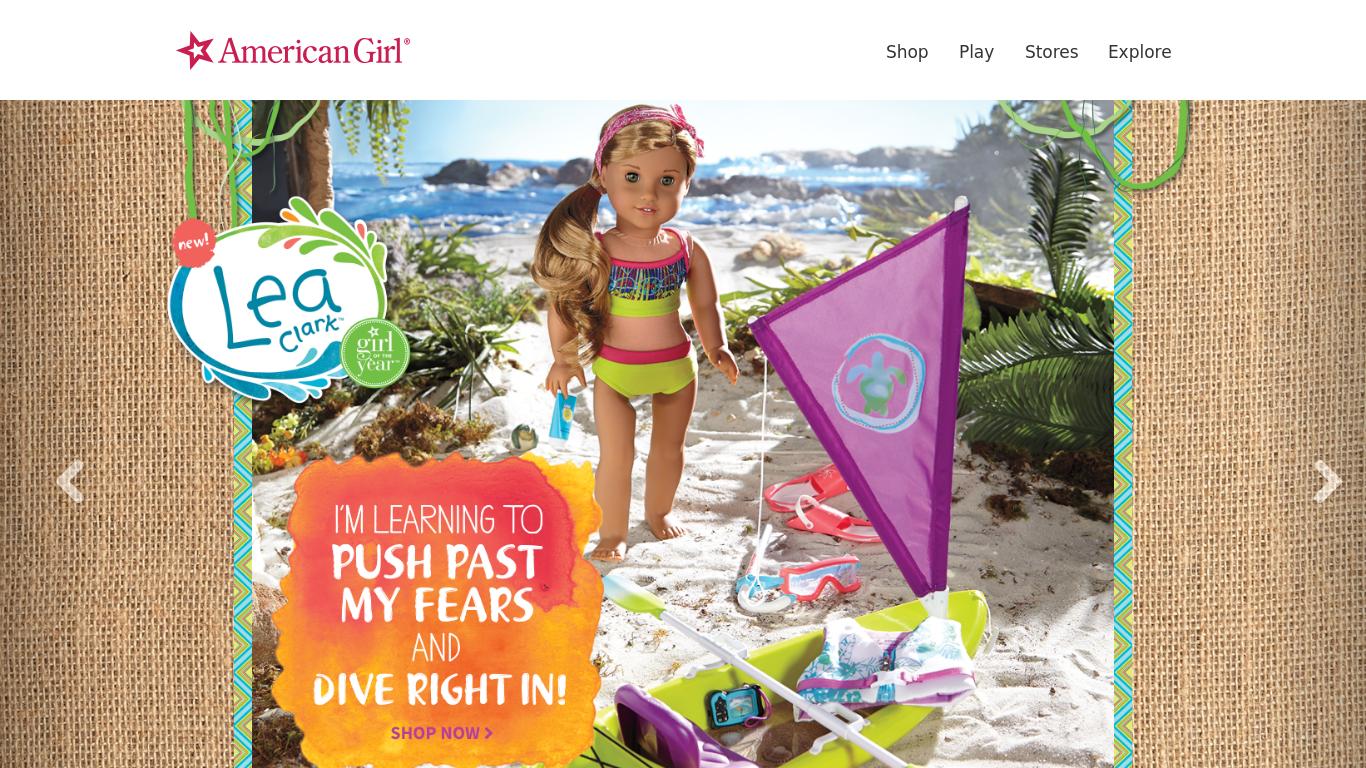 americangirl.com Screenshotx