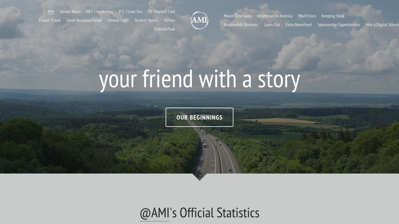 amipublications.com Screenshotx