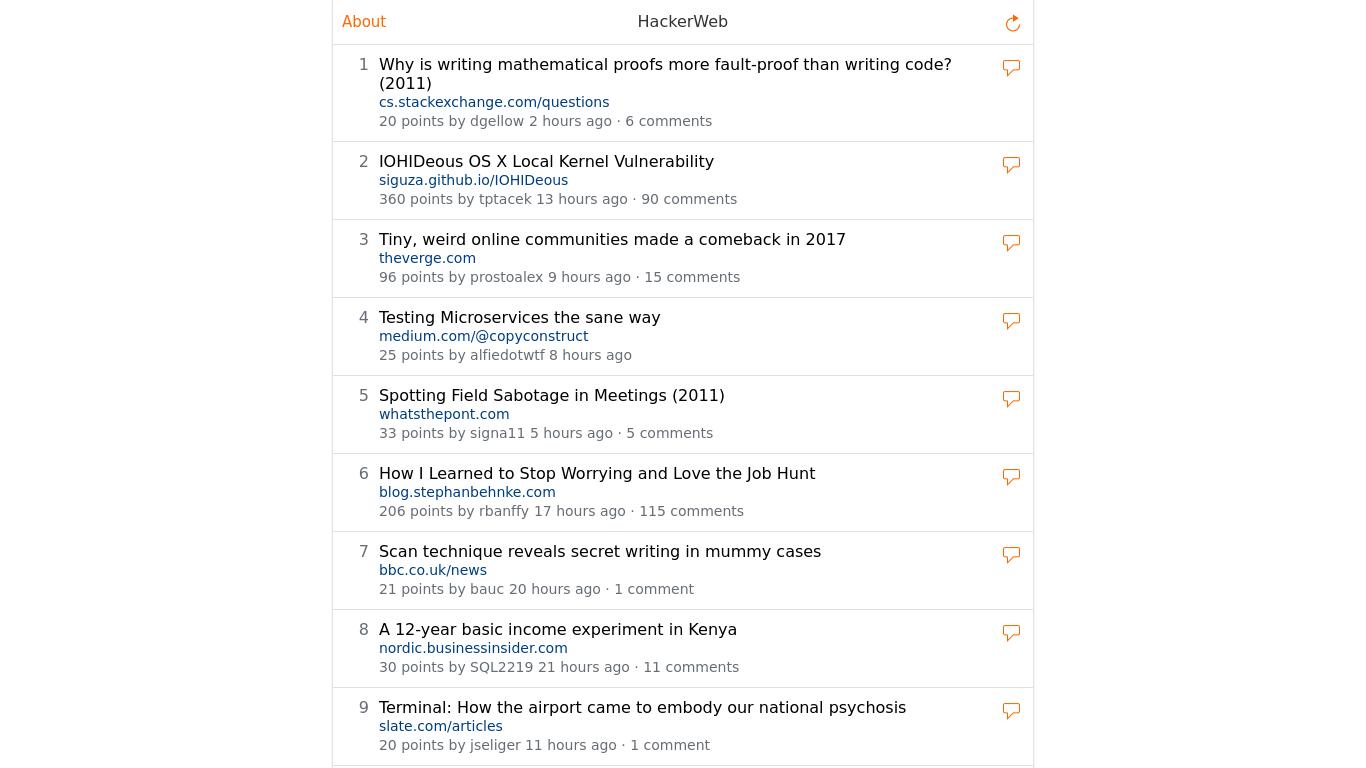 app.hackerwebapp.com Screenshotx