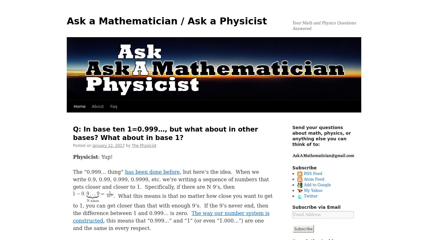 ask physics questions live