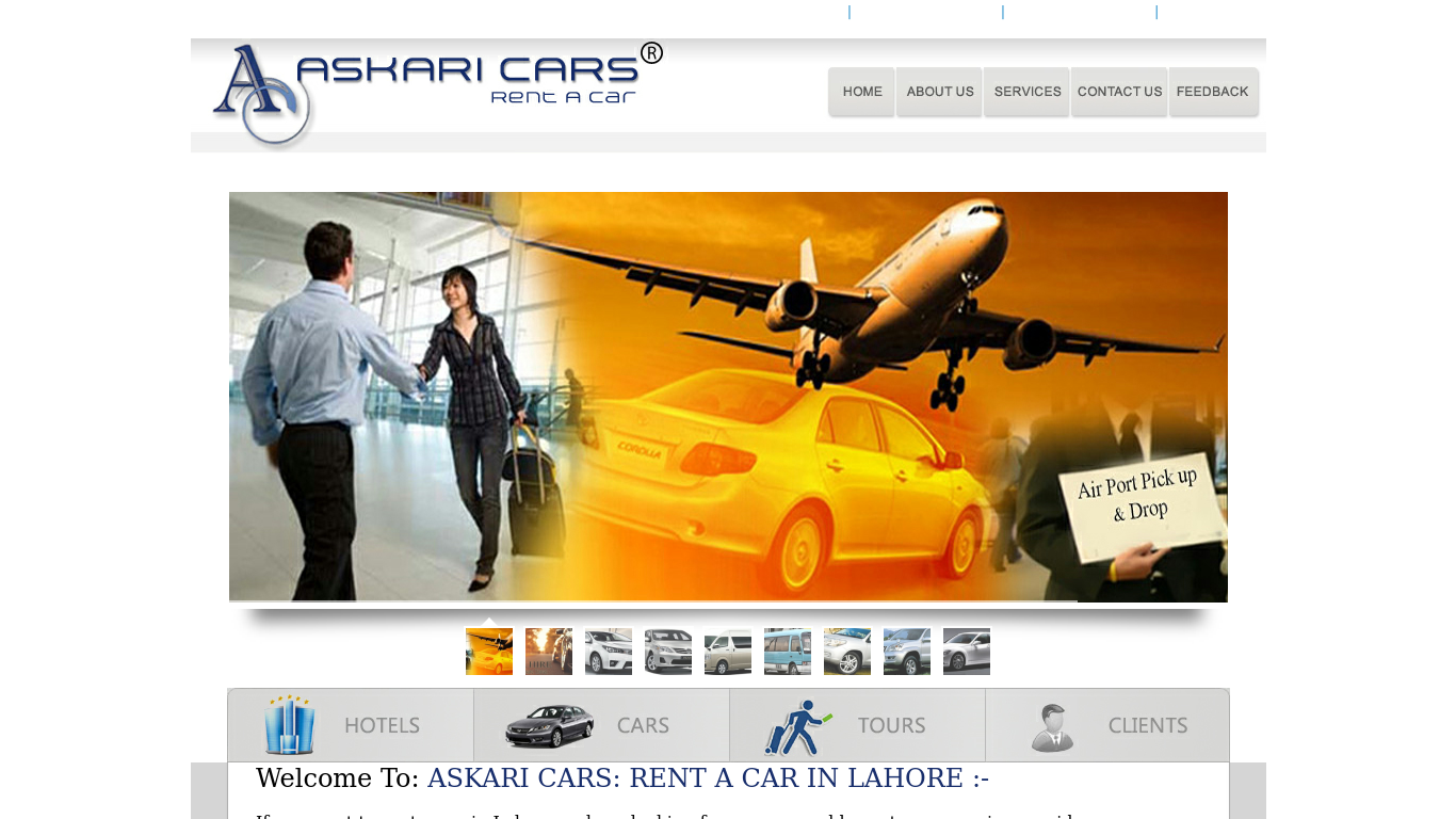 askaricars.com Screenshot