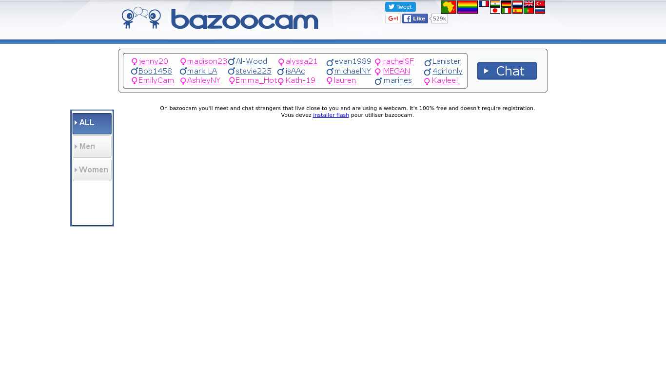 Video chat bazoo Omegle TV