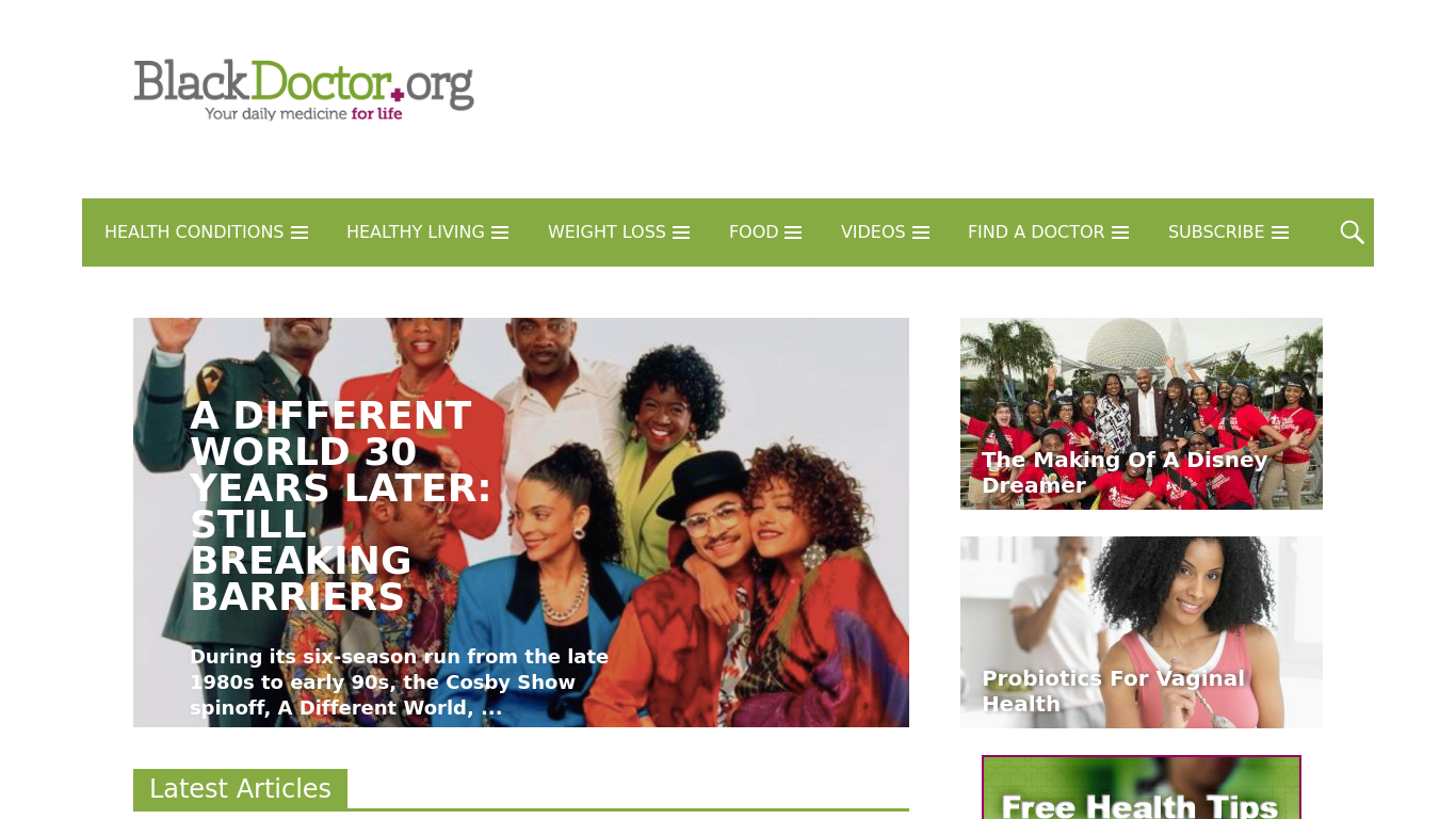 blackdoctor.org Screenshotx