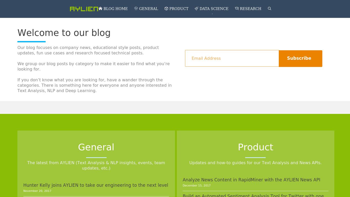 blog.aylien.com Screenshotx
