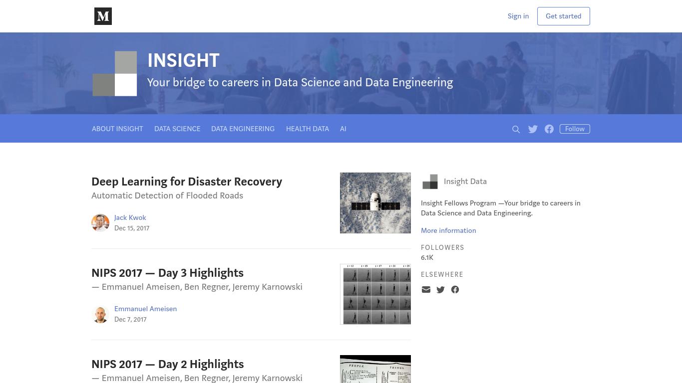blog.insightdatascience.com Screenshotx