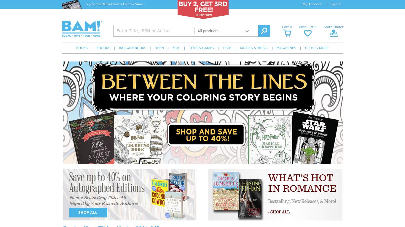 website million books