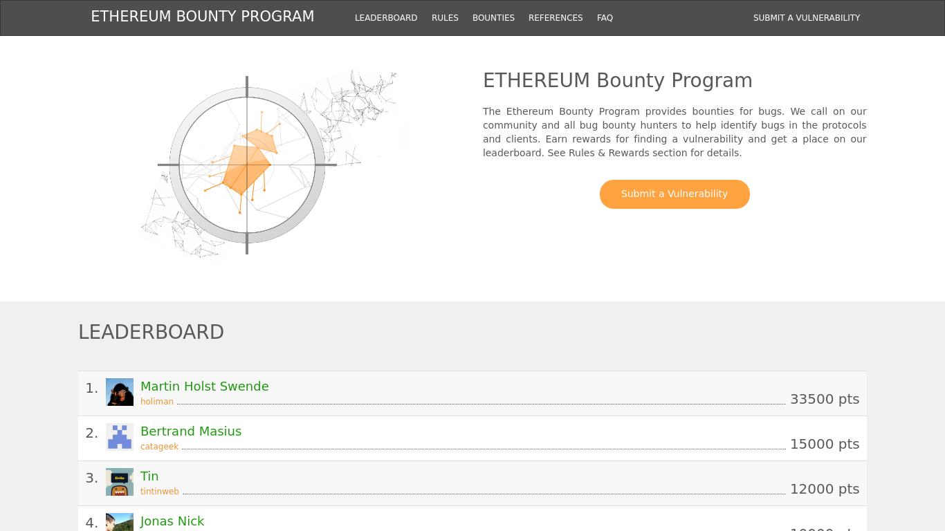 bounty.ethereum.org Screenshotx