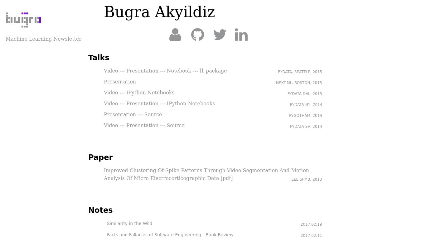 bugra.github.io Screenshotx