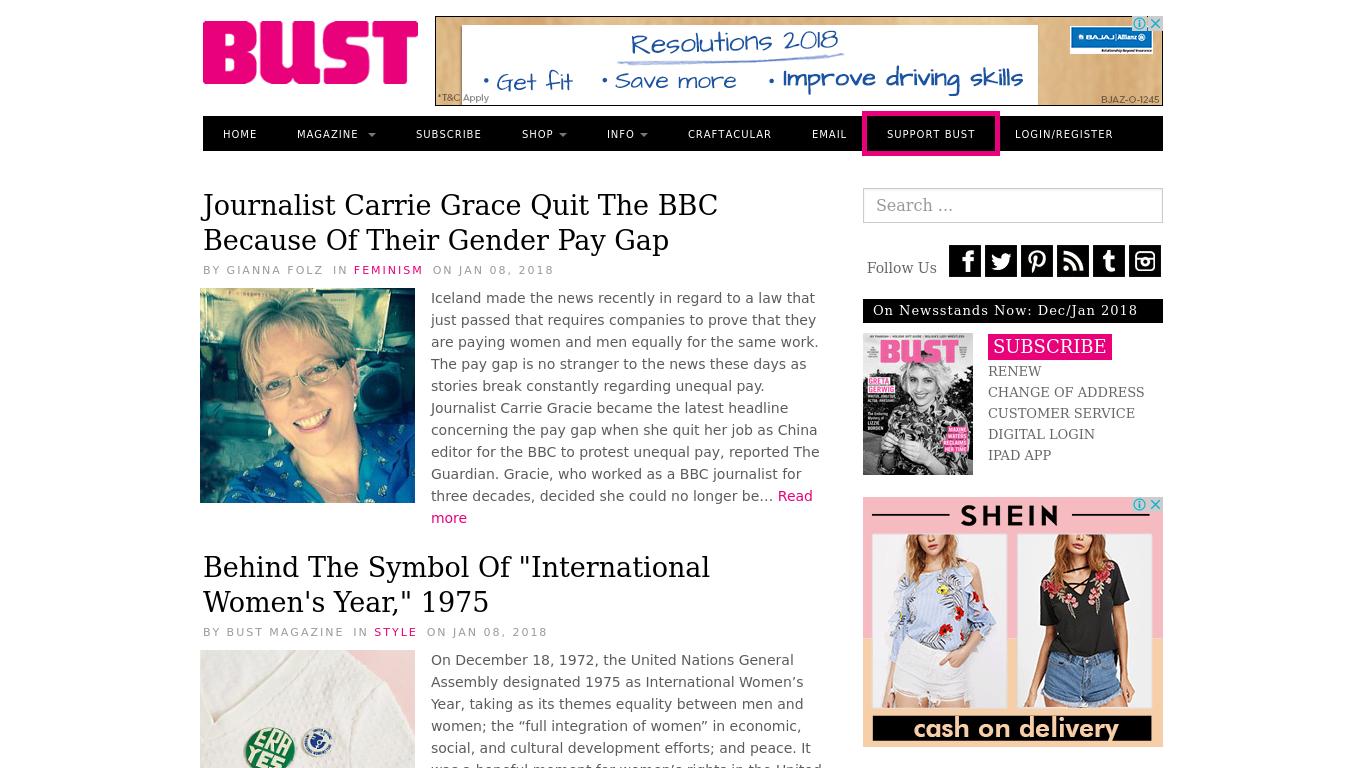 bust.com Screenshotx