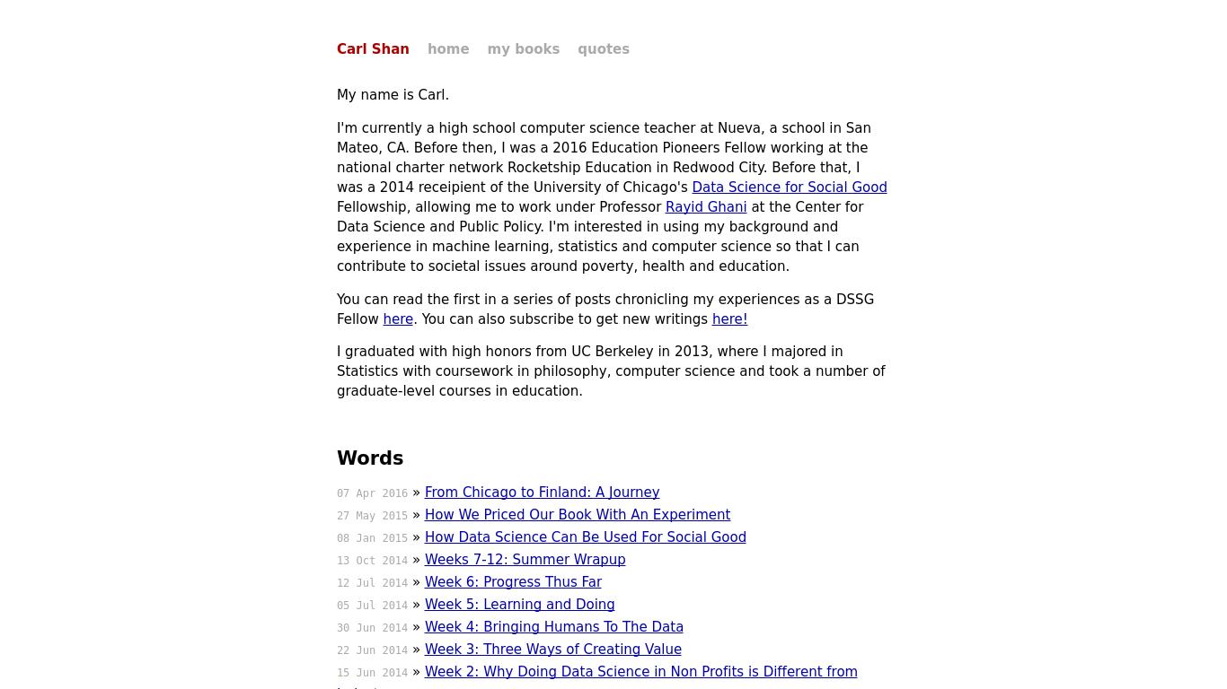 carlshan.com Screenshotx