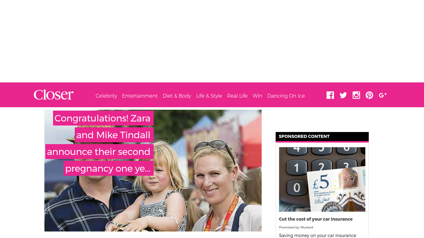 closeronline.co.uk Screenshotx
