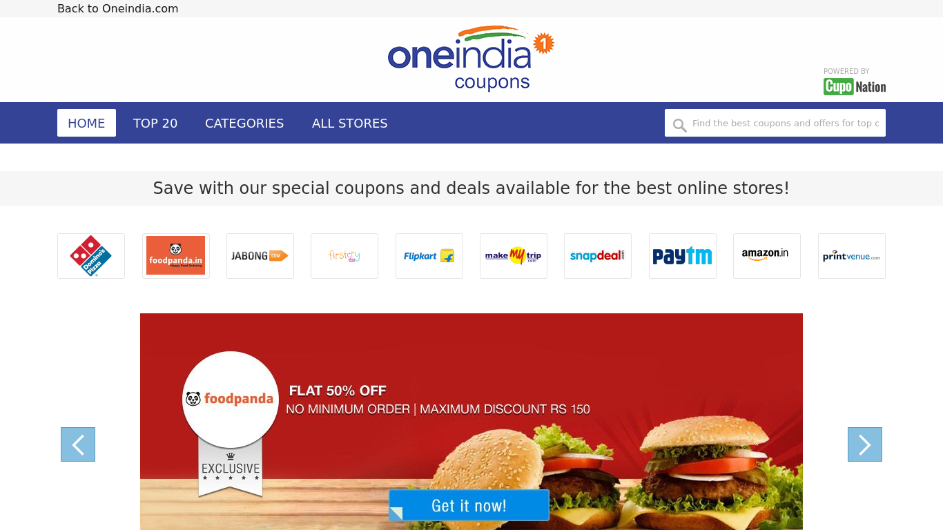 cd97bd37a OneIndia Coupons
