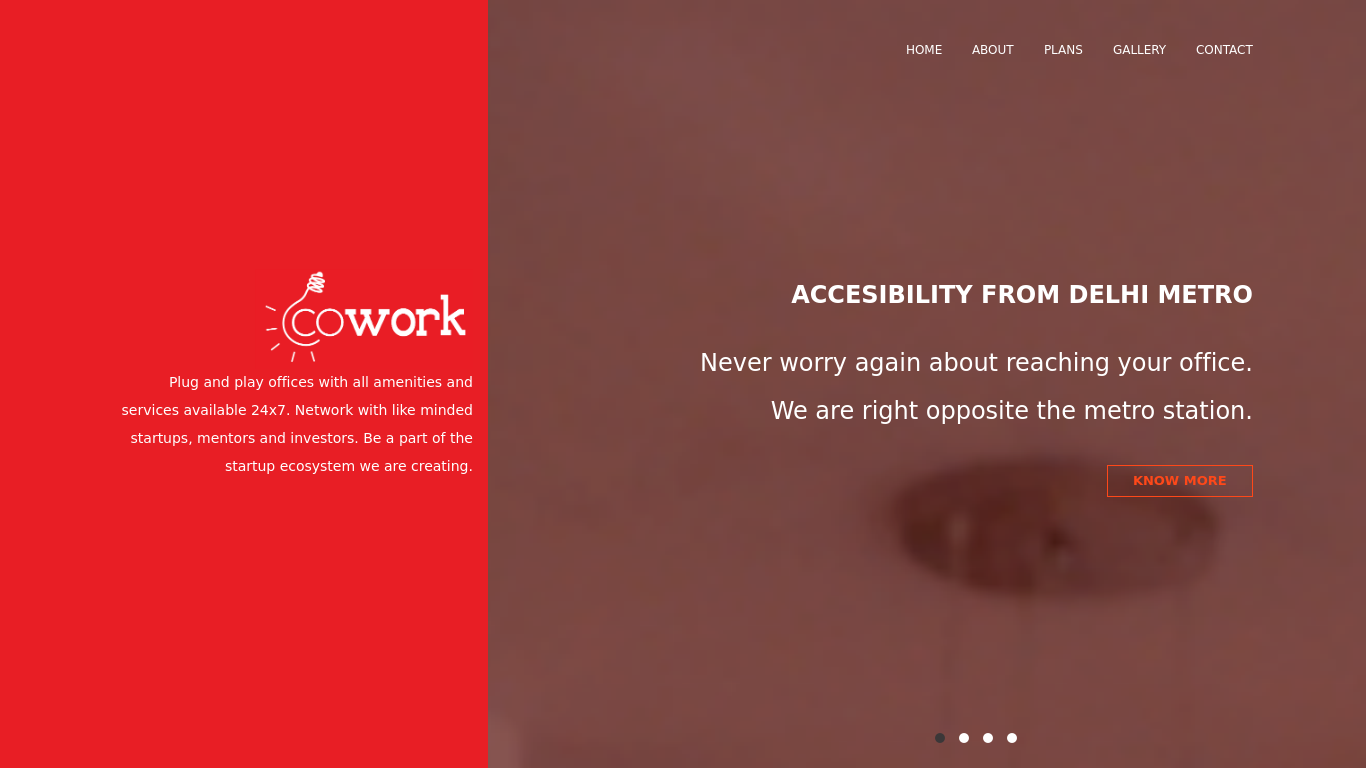 coworkdelhi.com Screenshotx