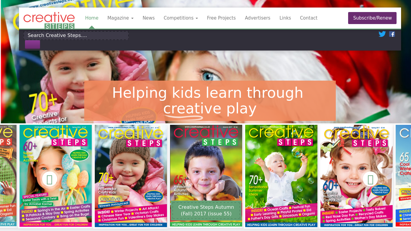 creativesteps.co.uk Screenshot