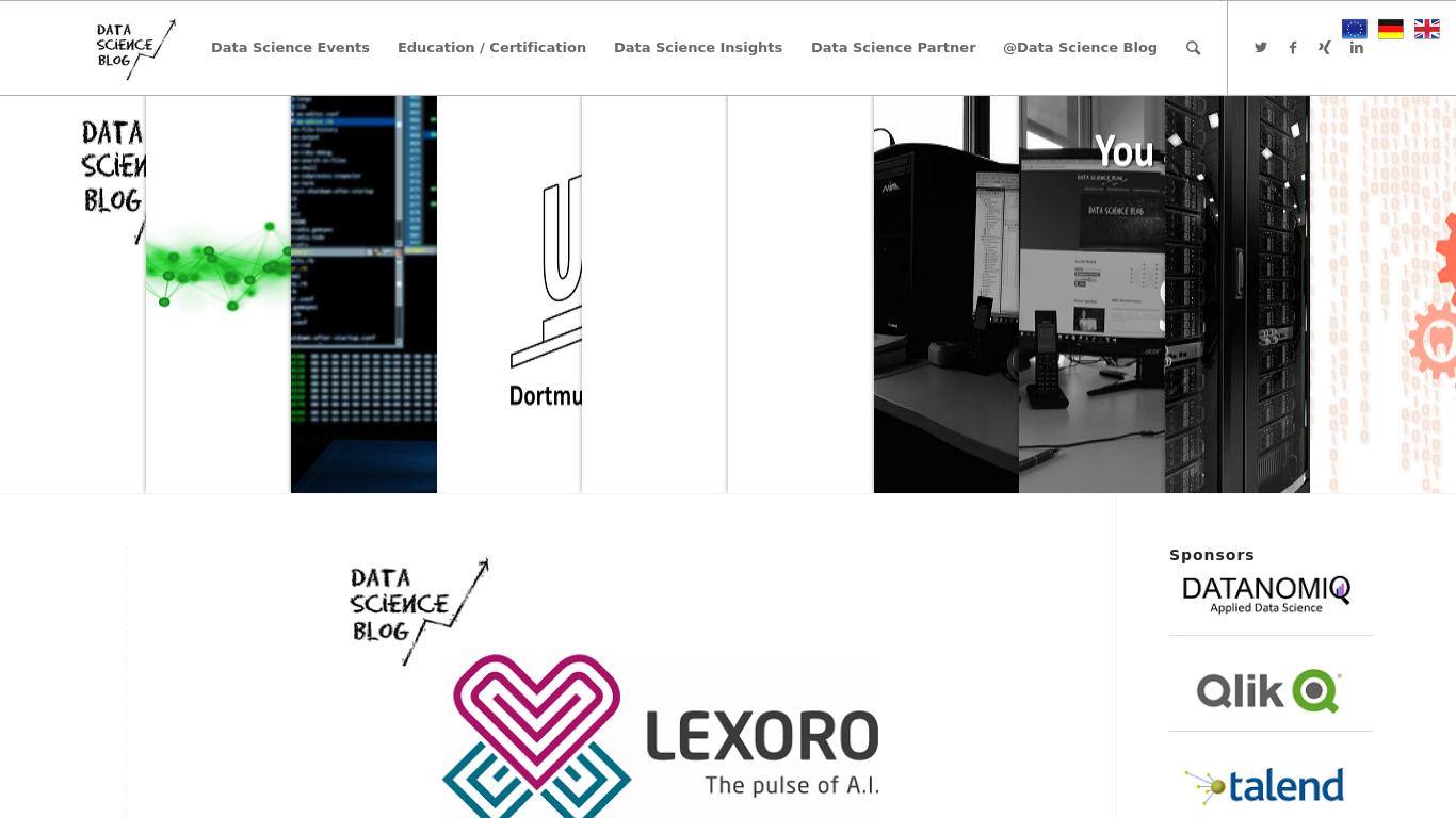 data-science-blog.com Screenshotx