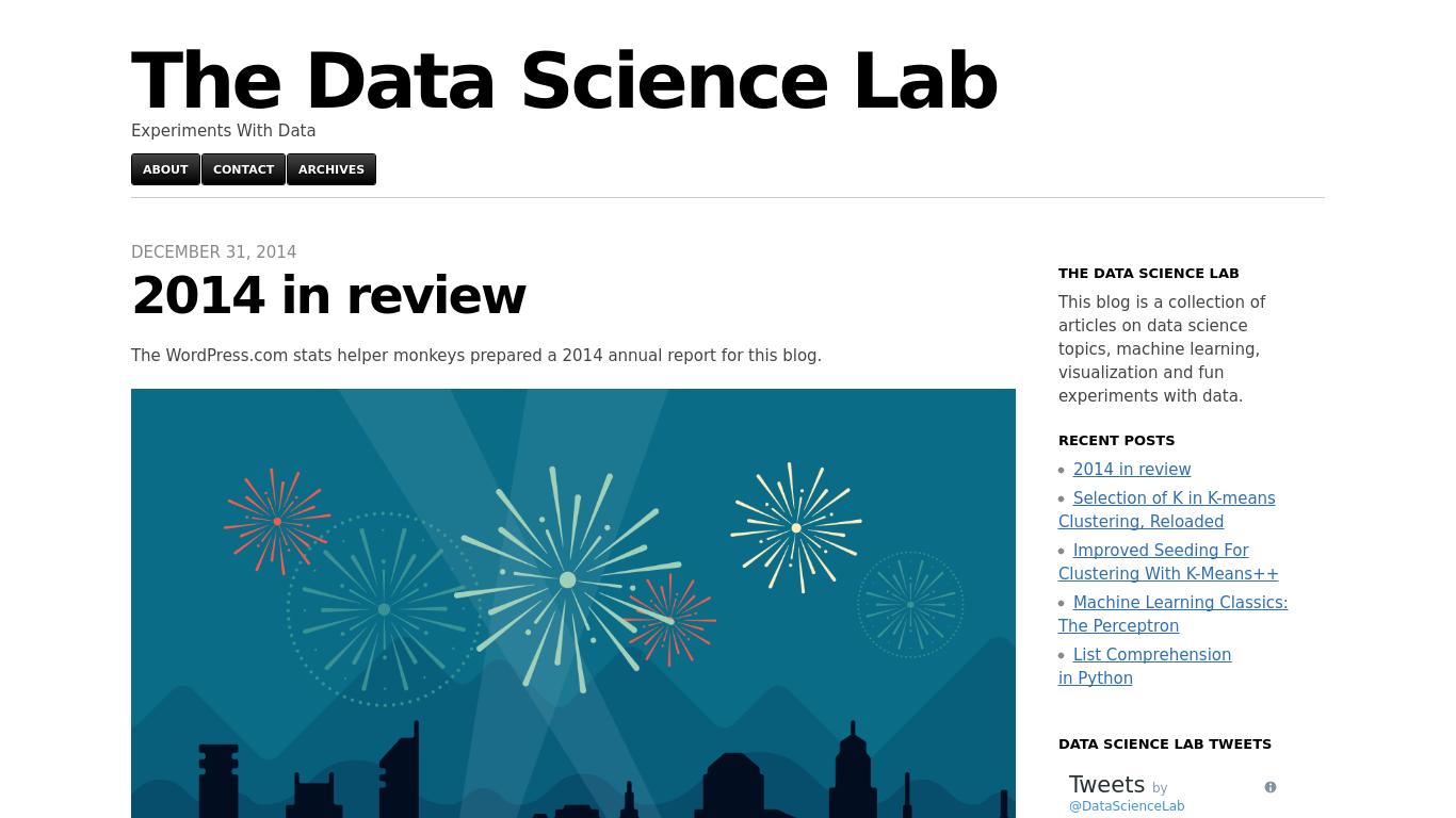 datasciencelab.wordpress.com Screenshotx