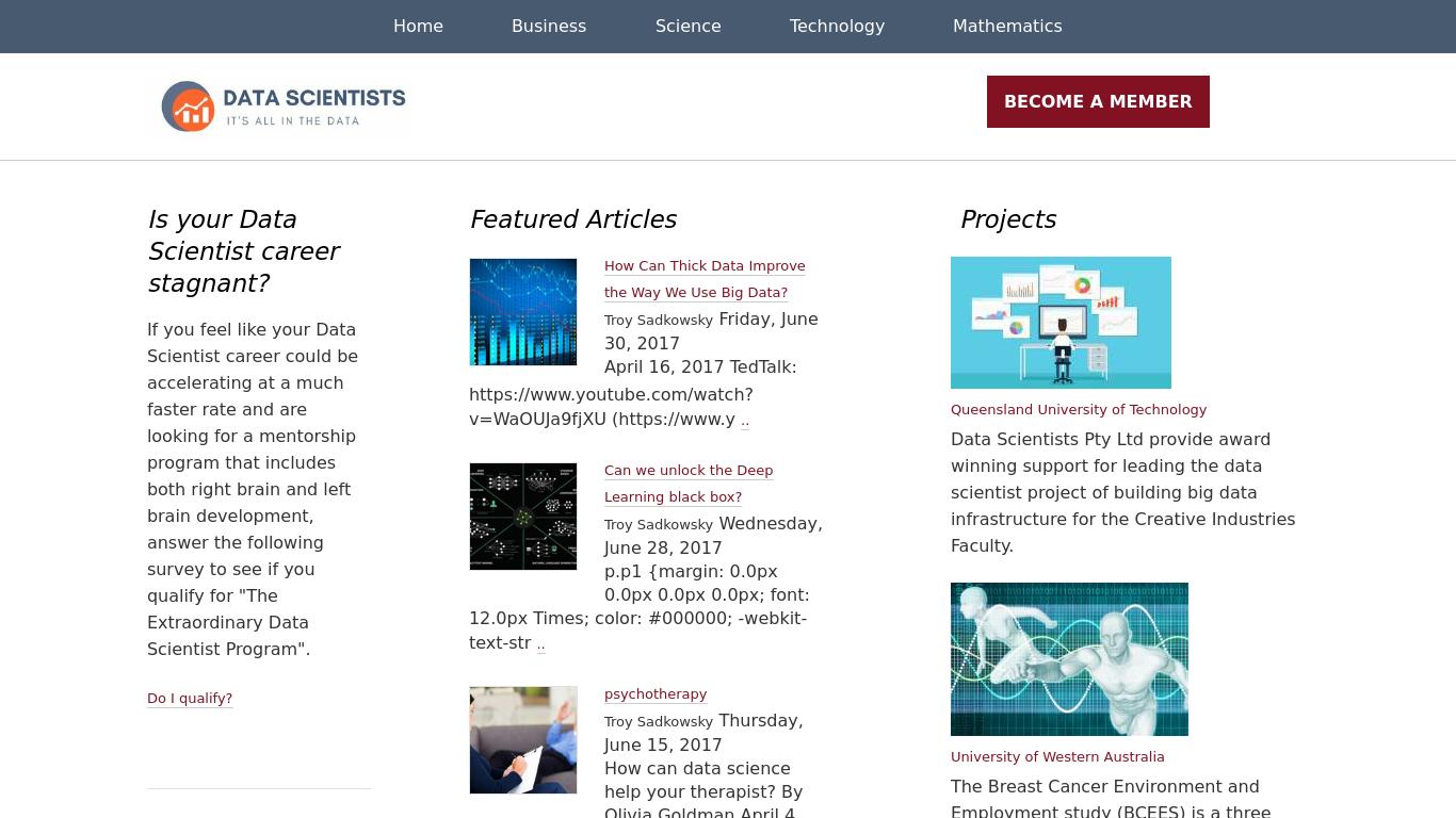 datascientists.net Screenshotx