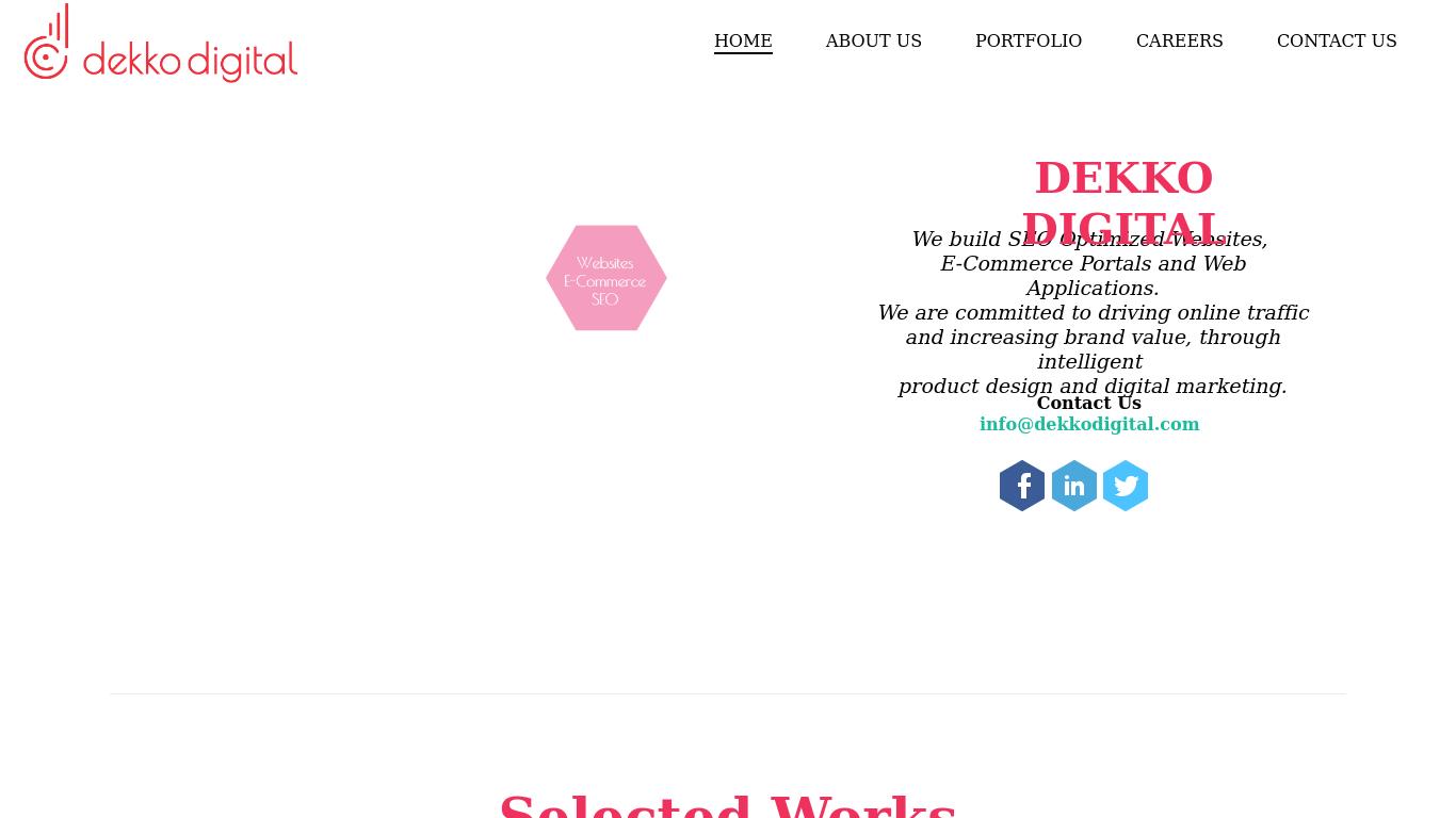dekkodigital.com Screenshotx