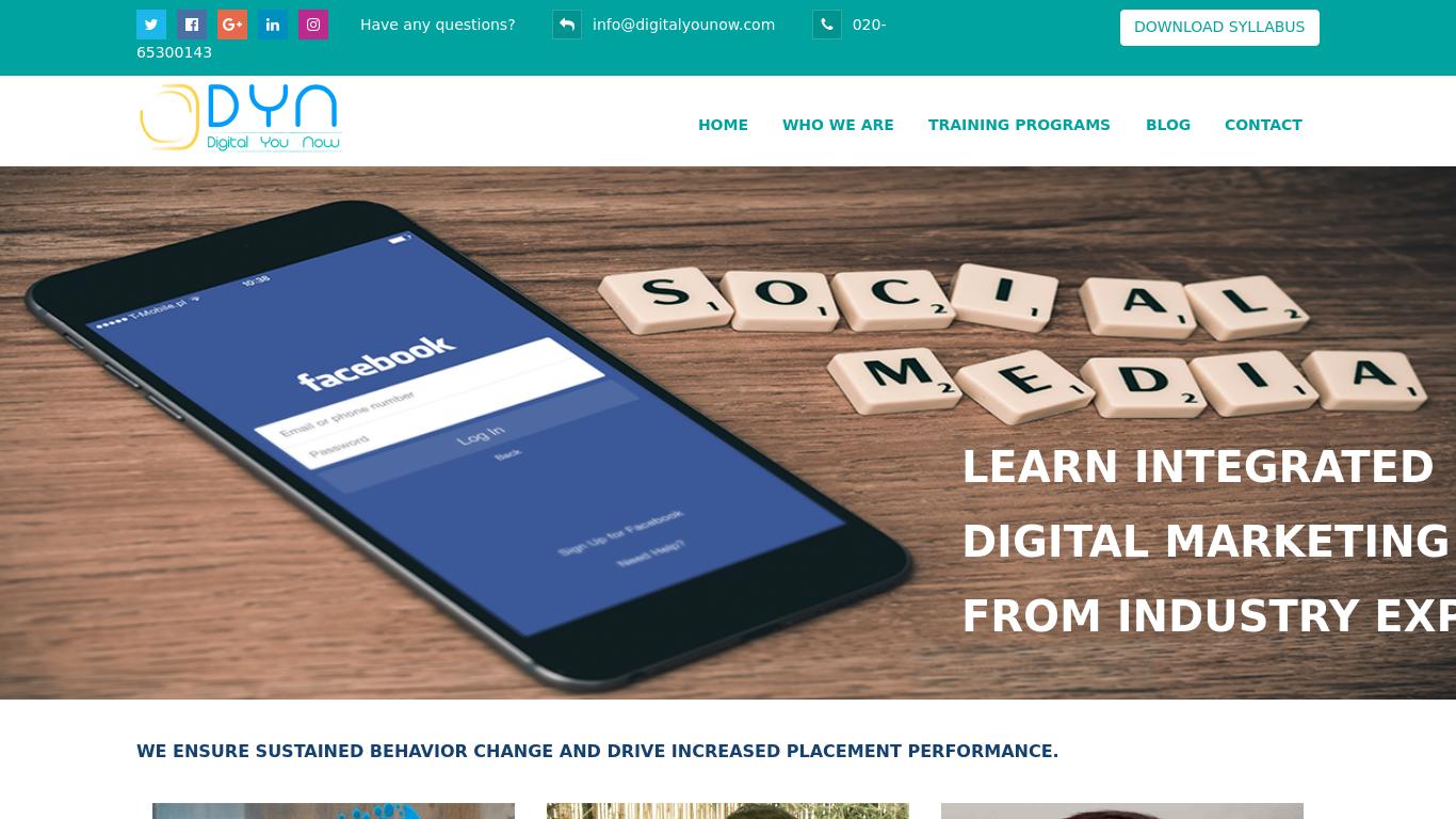 digitalyounow.com Screenshotx