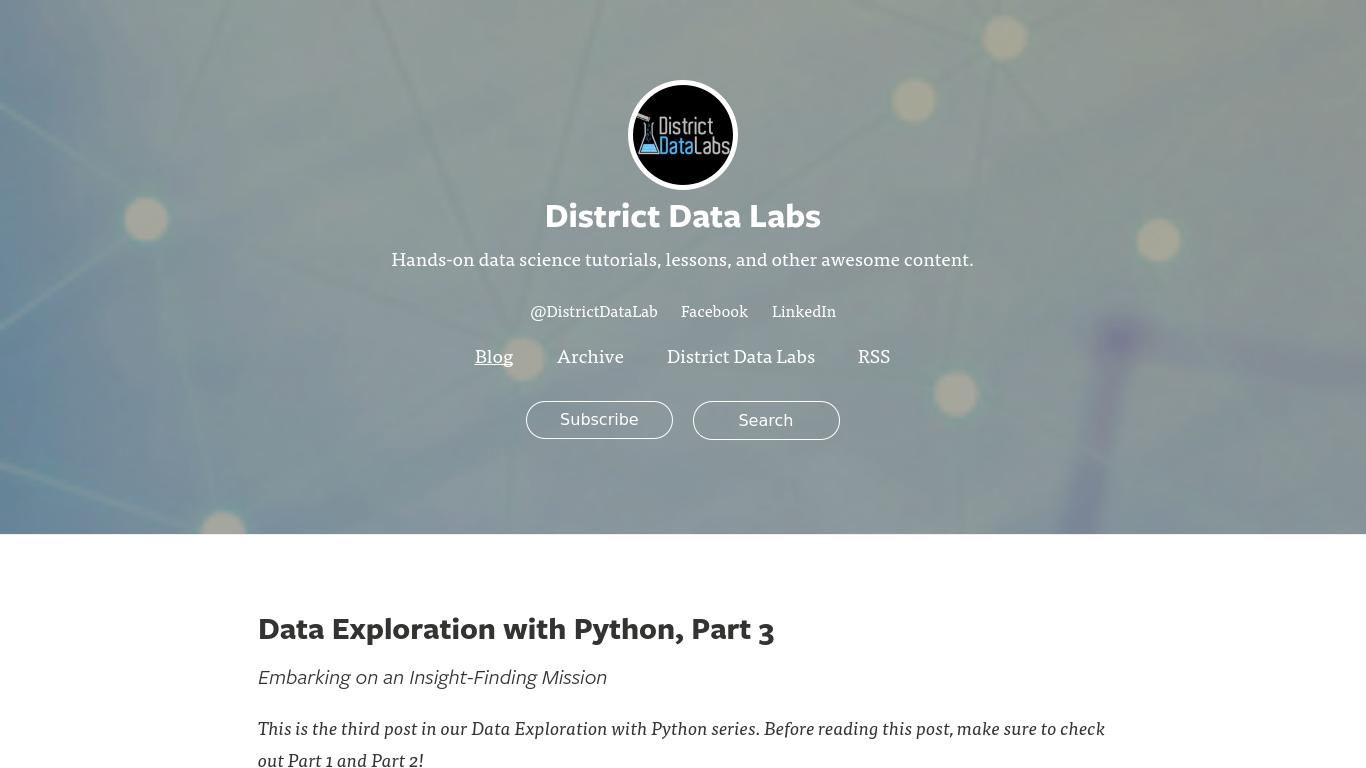 districtdatalabs.silvrback.com Screenshotx