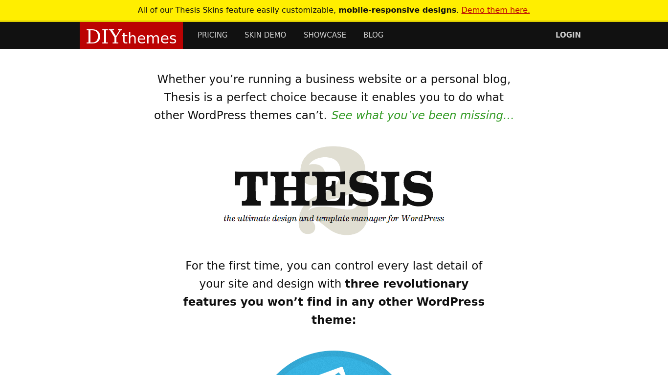 thesis blog design Thesis skins help you to customize your thesis theme quickly here is a list of beautiful business and blog look thesis skins for your thesis 20+ theme.