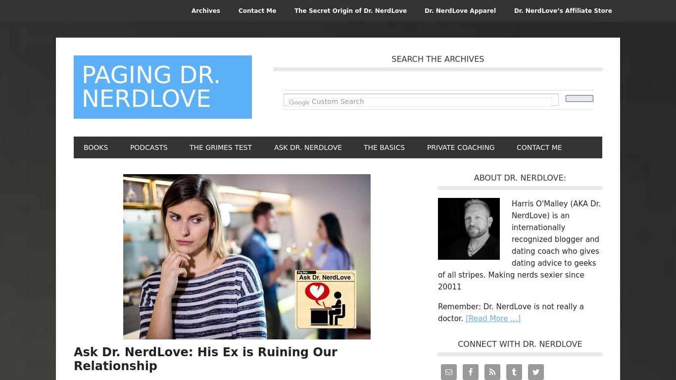 doctornerdlove.com Screenshotx