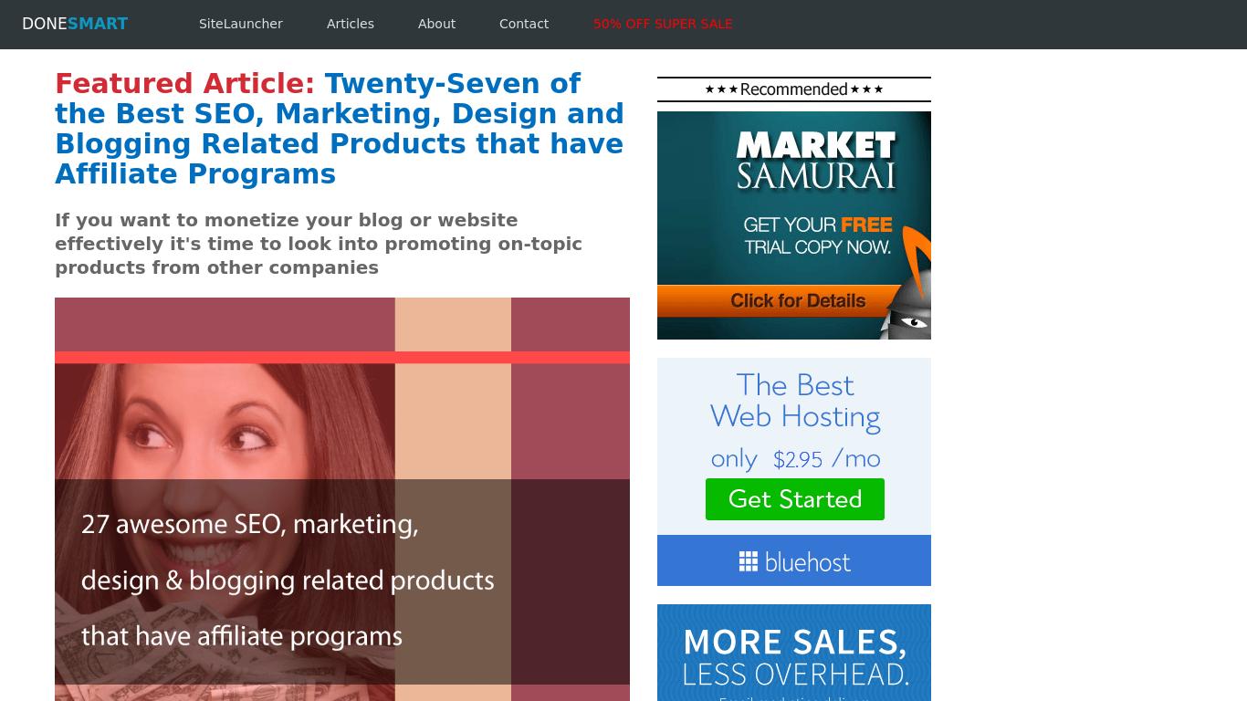 donesmart.com Screenshotx