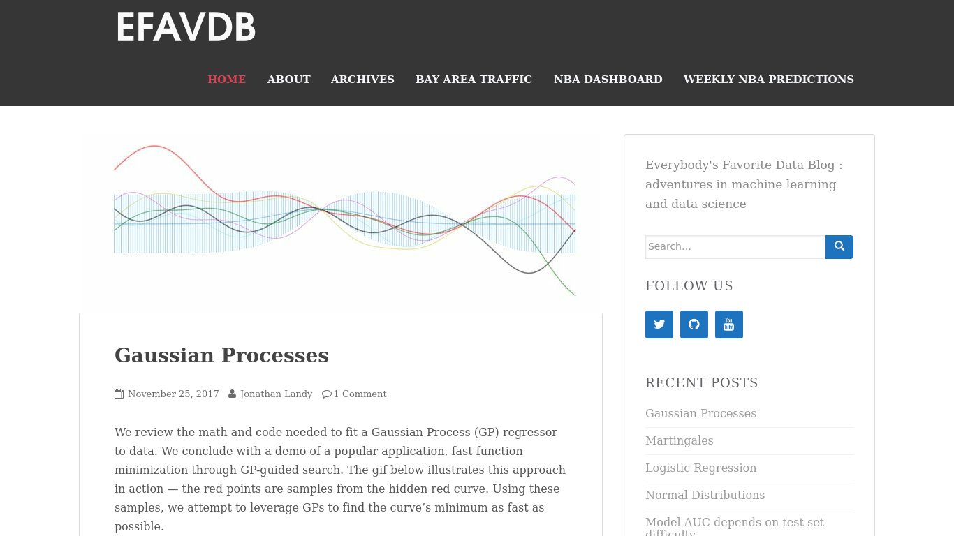 efavdb.com Screenshot