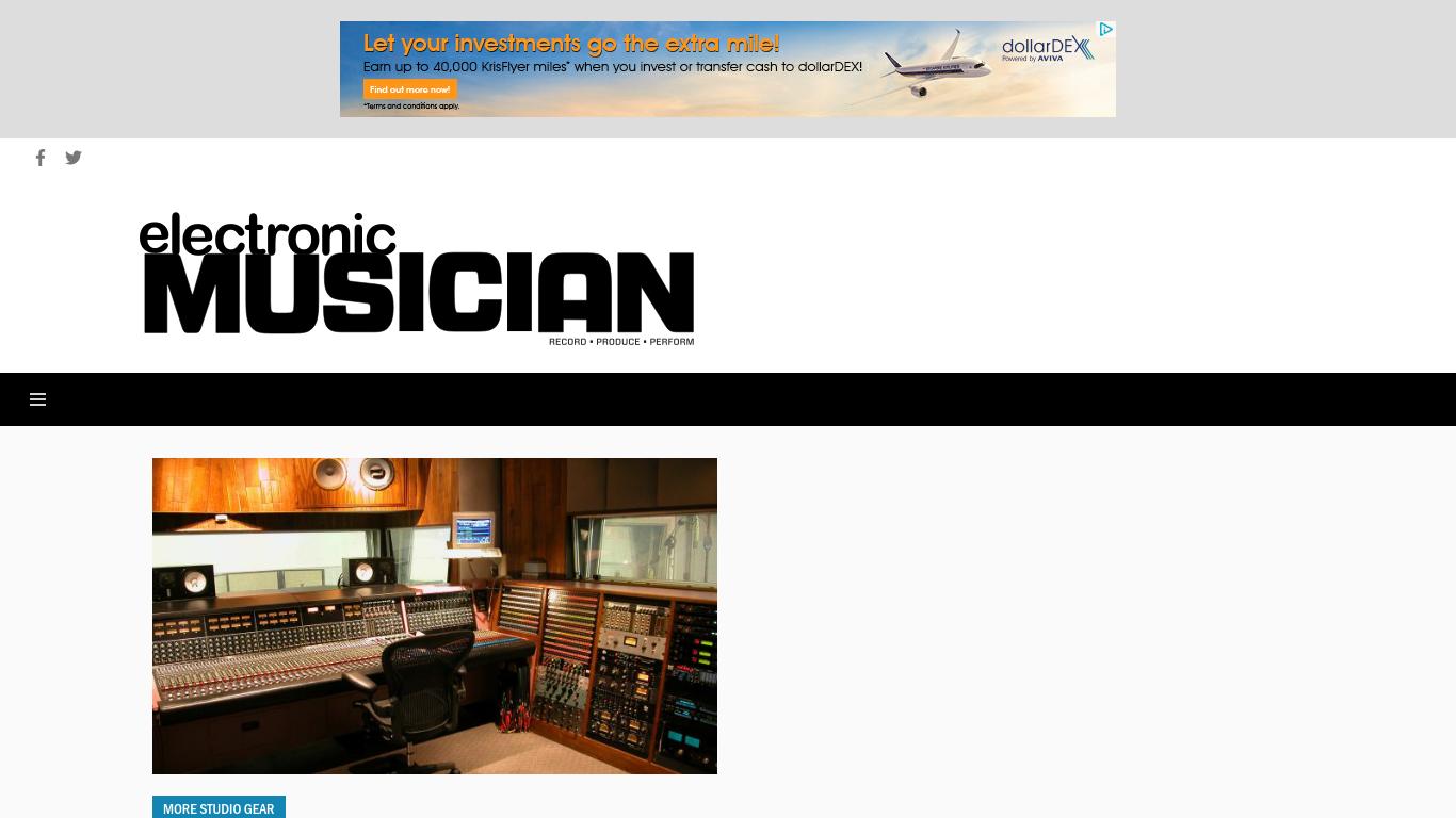 emusician.com Screenshotx