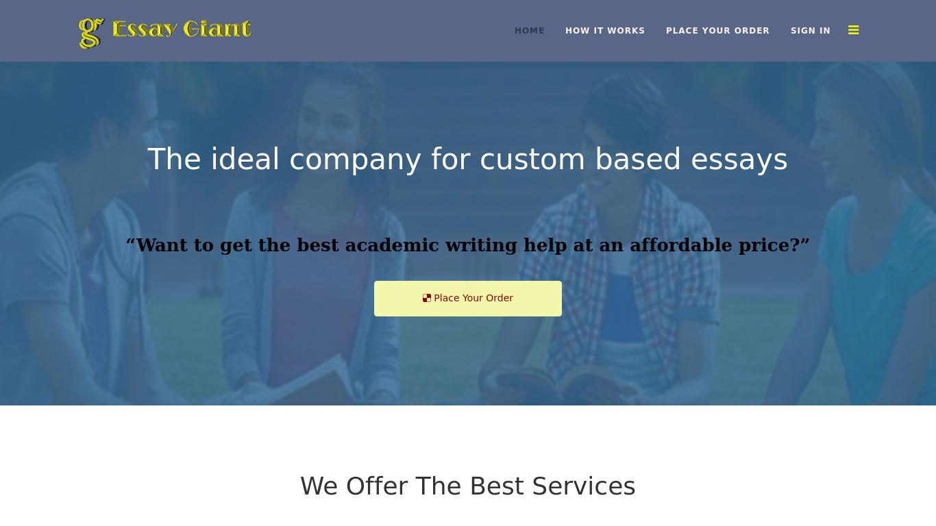 essay-giant.com Screenshotx