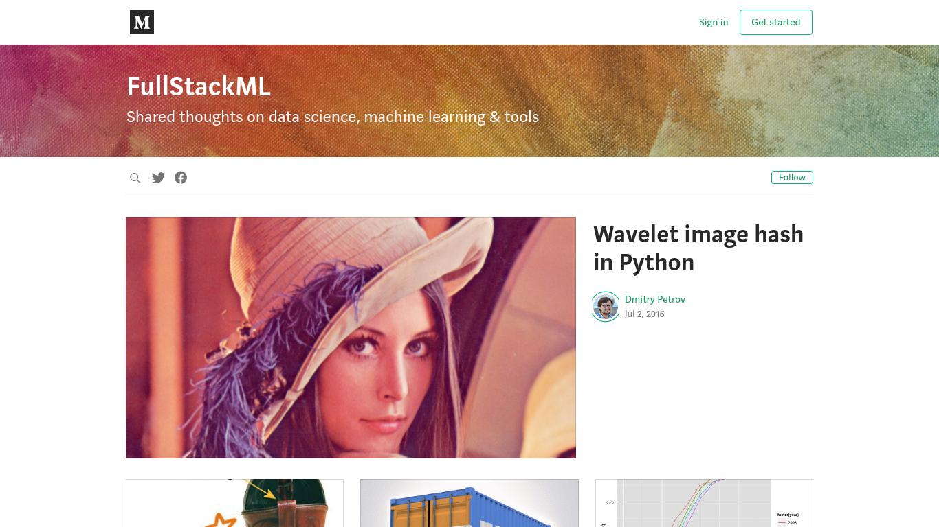 fullstackml.com Screenshotx