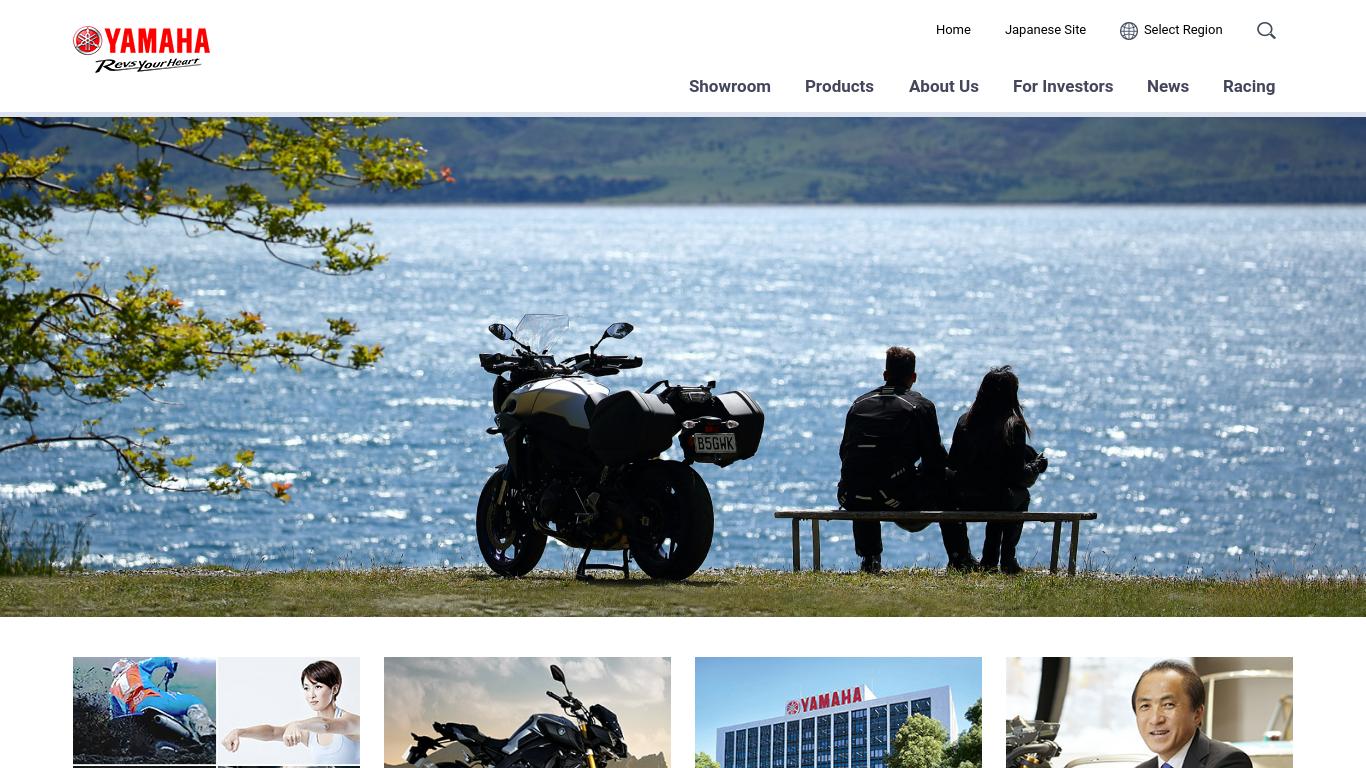 global.yamaha-motor.com Screenshotx