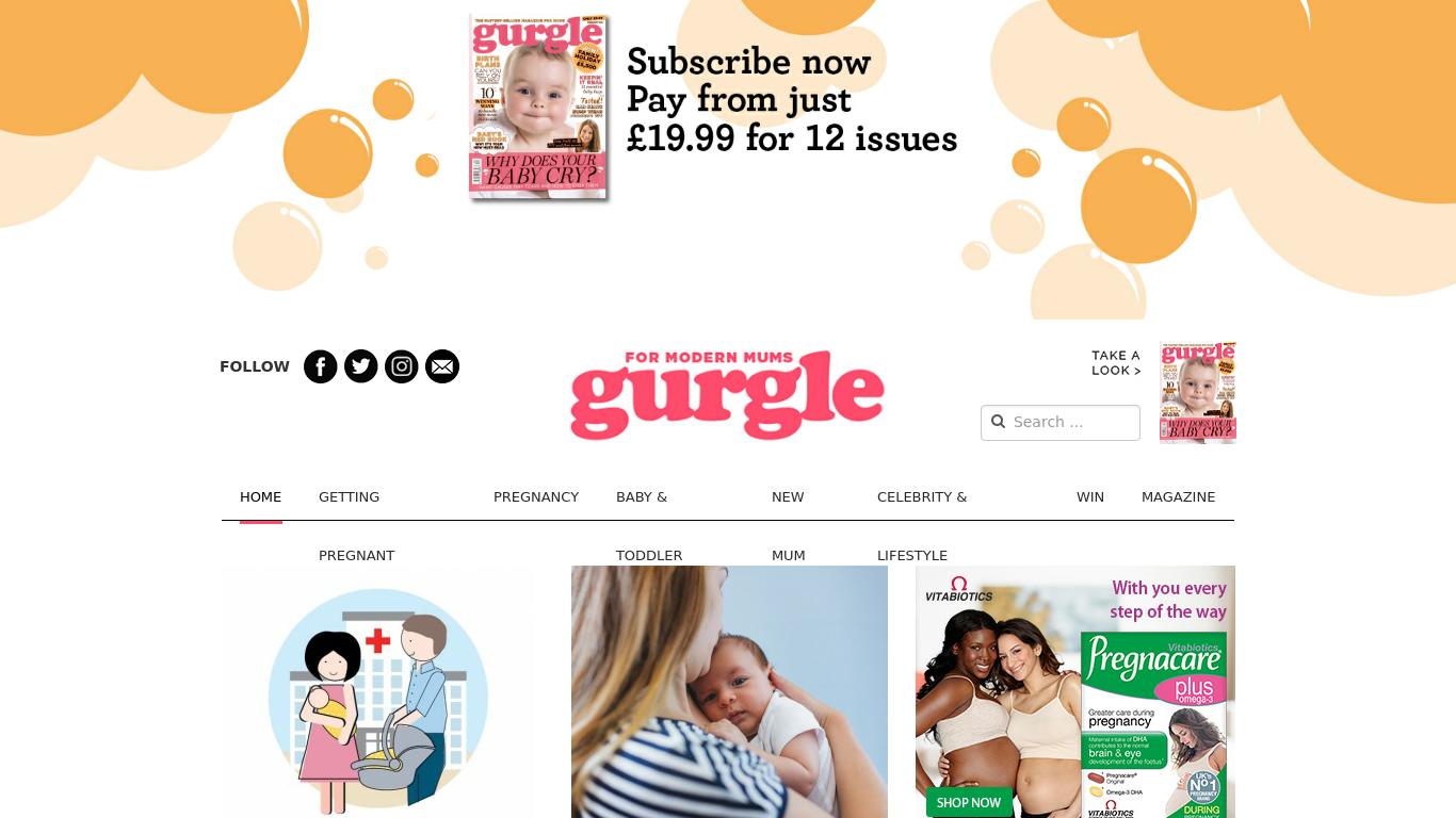 gurgle.com Screenshotx