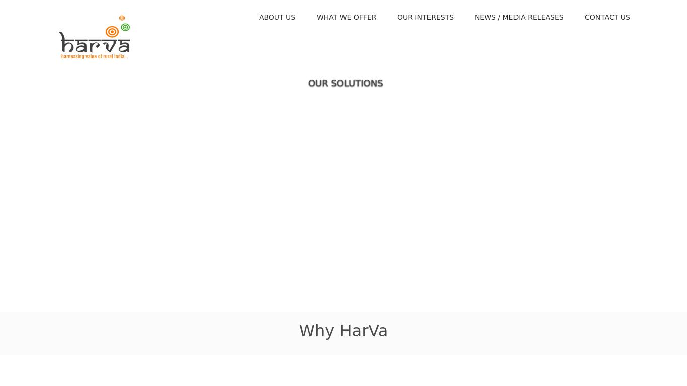 harva.co.in Screenshotx