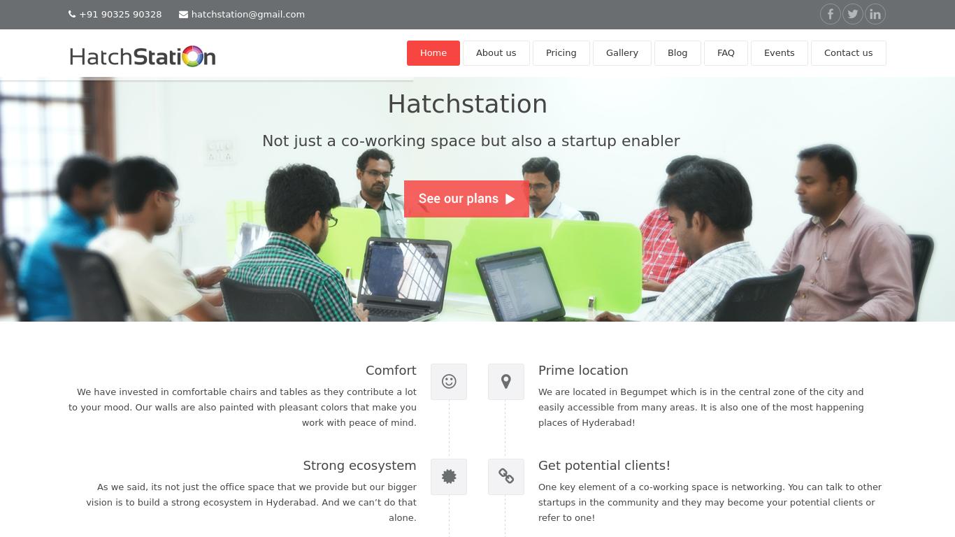 hatchstation.com Screenshotx