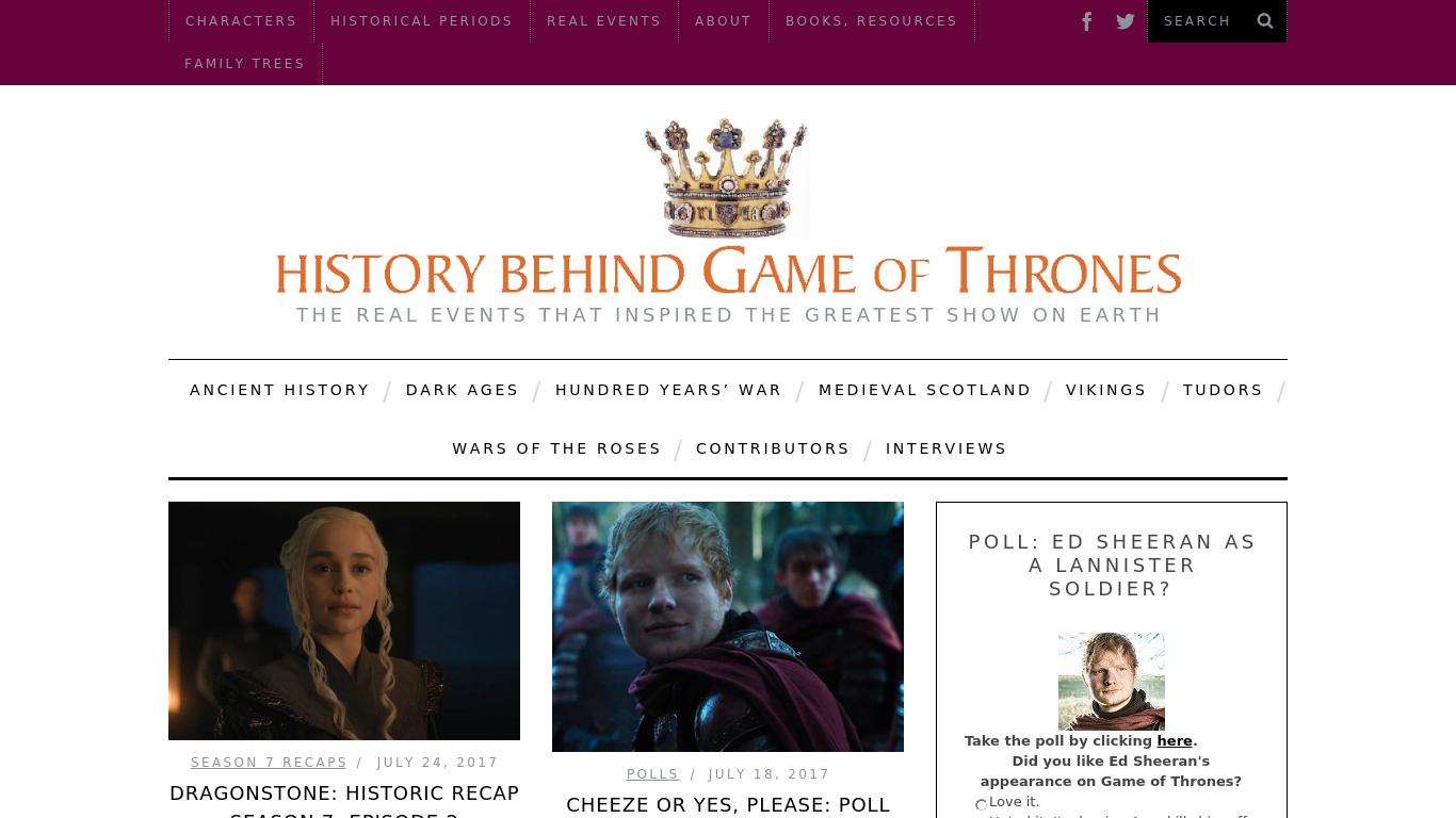 history-behind-game-of-thrones.com Screenshotx