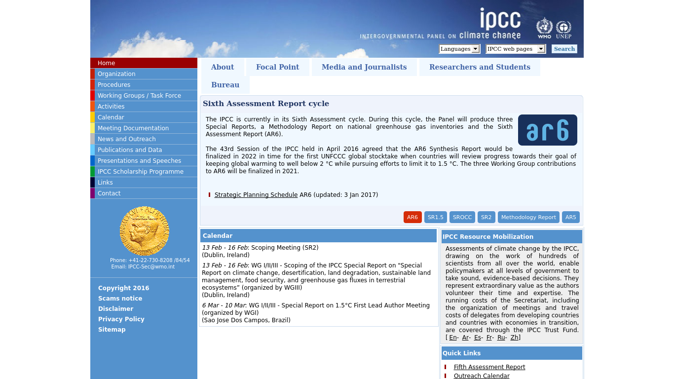 ipcc status report on climate change summary The latest climate report by the intergovernmental panel on climate change's (ipcc) working group 1 was released friday, sept 27, and concludes with higher confidence than ever before that human.