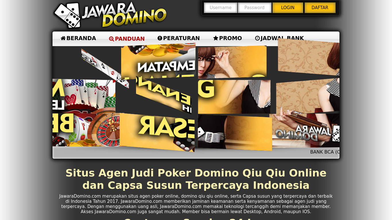 jawaradomino.com Screenshotx