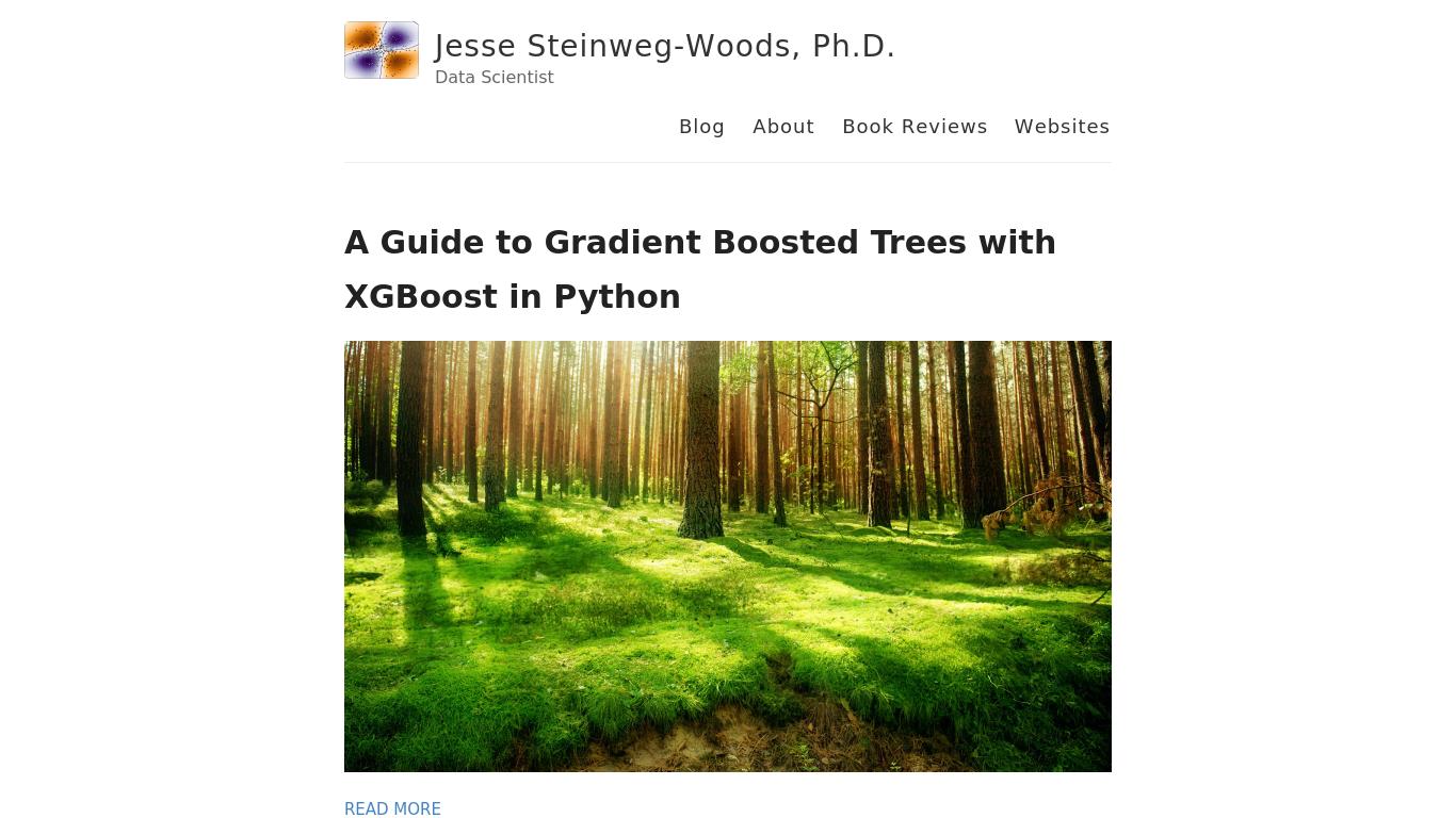 jessesw.com Screenshotx