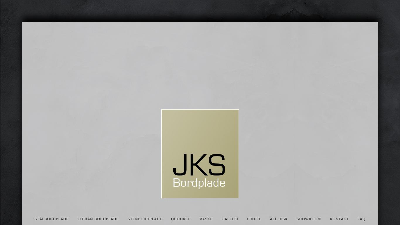 jksbordplade.dk Screenshotx