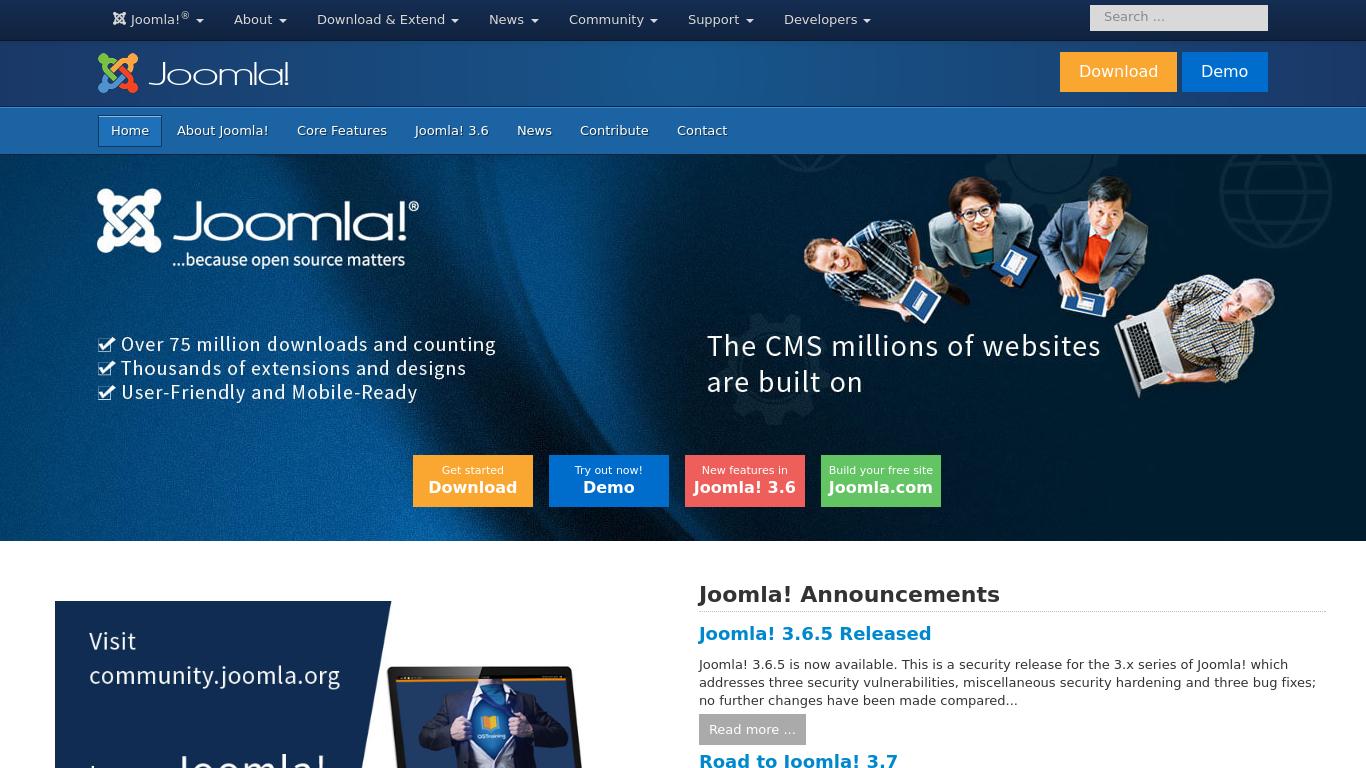 Joomla создание сайта с нуля бесплатно сайт центральная энергетическая компания днепропетровск