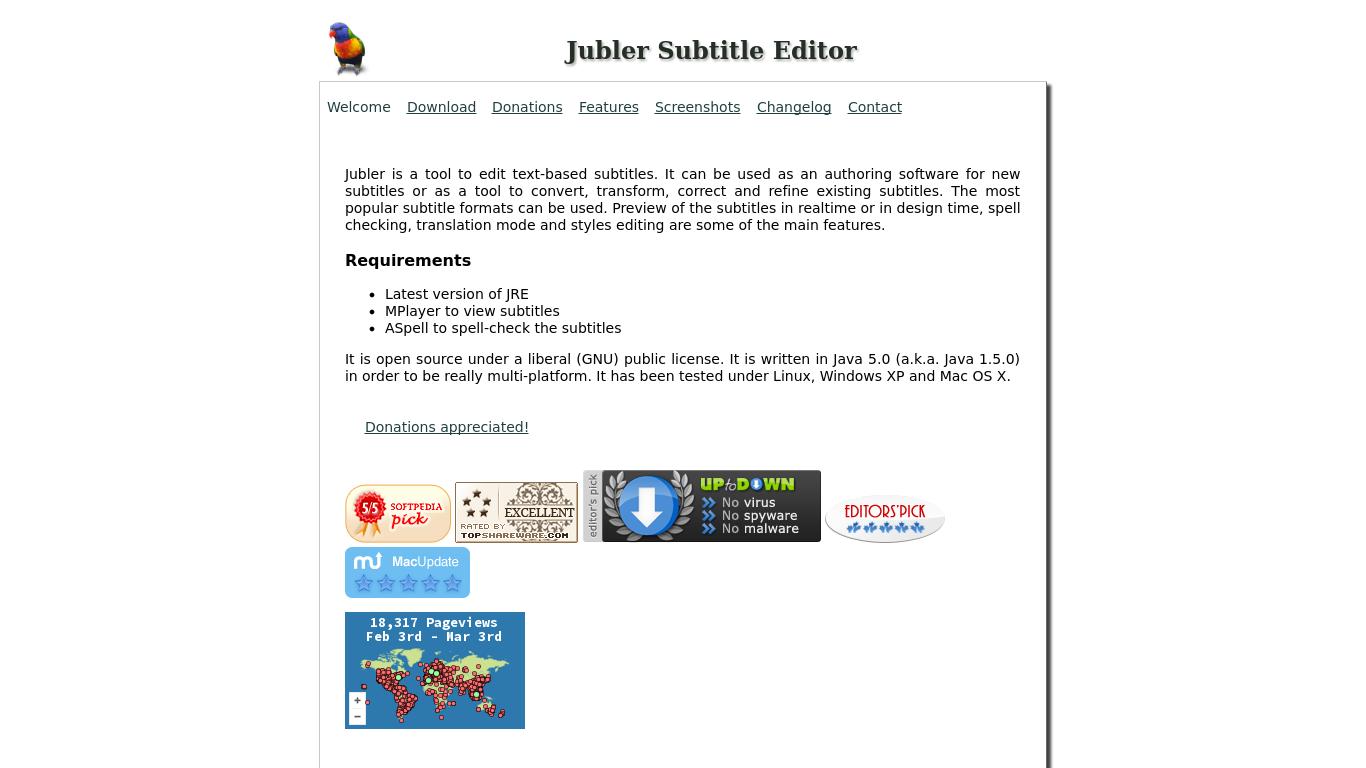 Jubler Subtitle Editor Alternatives - 19 Best Jubler