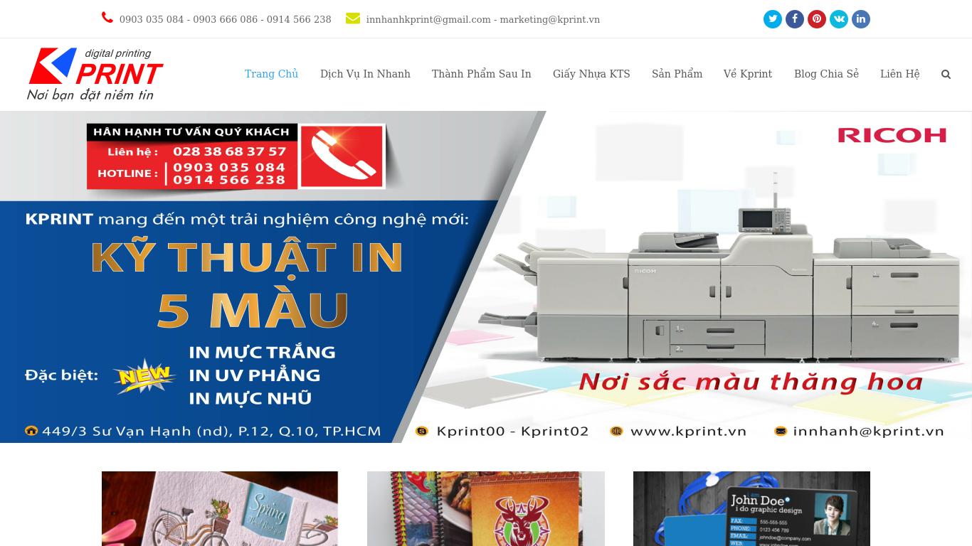 kprint.vn Screenshotx